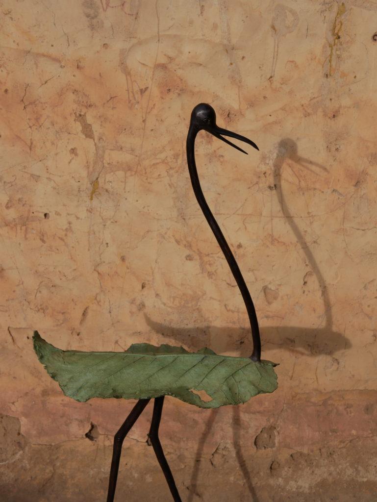 oiseau Hamado bronze fo gninta